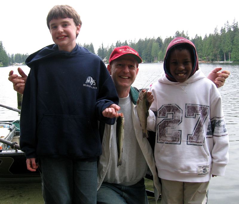 family fishing bellevue